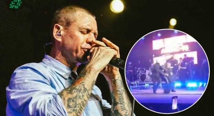 Соліст групи «Ляпис Трубецкой» побив фаната на концерті в Полтаві. Відео