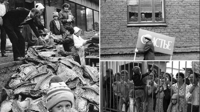 Спливли заборонені фото з СРСР, на яких зображена жорстка правда