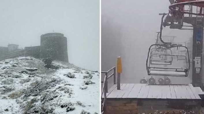У Карпатах вже зима – з морозом і снігом: фото з популярних курортів